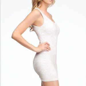 Bebe White Bodycon Dress
